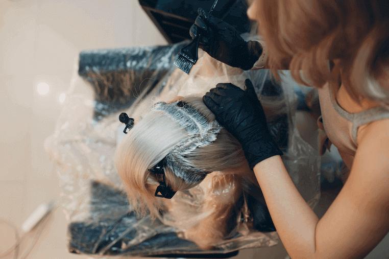 Haarkleur bedekt kale plekken