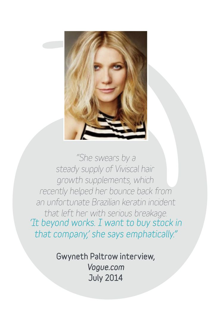Gwyneth Paltrow over viviscal